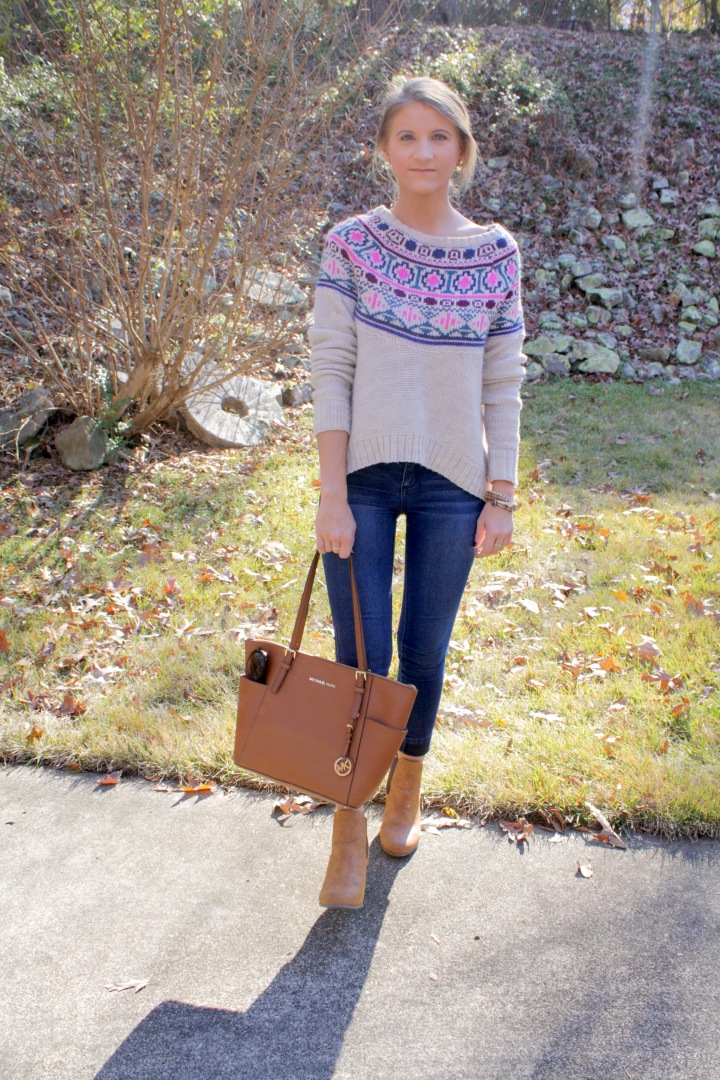 American Eagle Crop Sweater