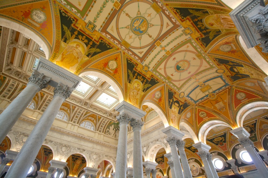 Washington D.C. - The Library of Congress