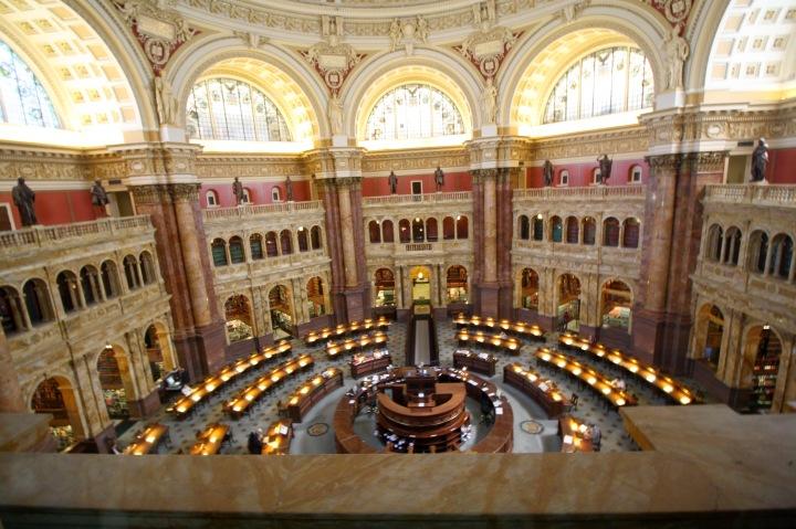 Washington D.C. - The Library of Congress