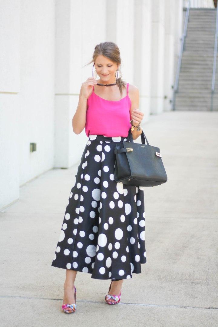 Statement Polka Dot Skirt (Again)