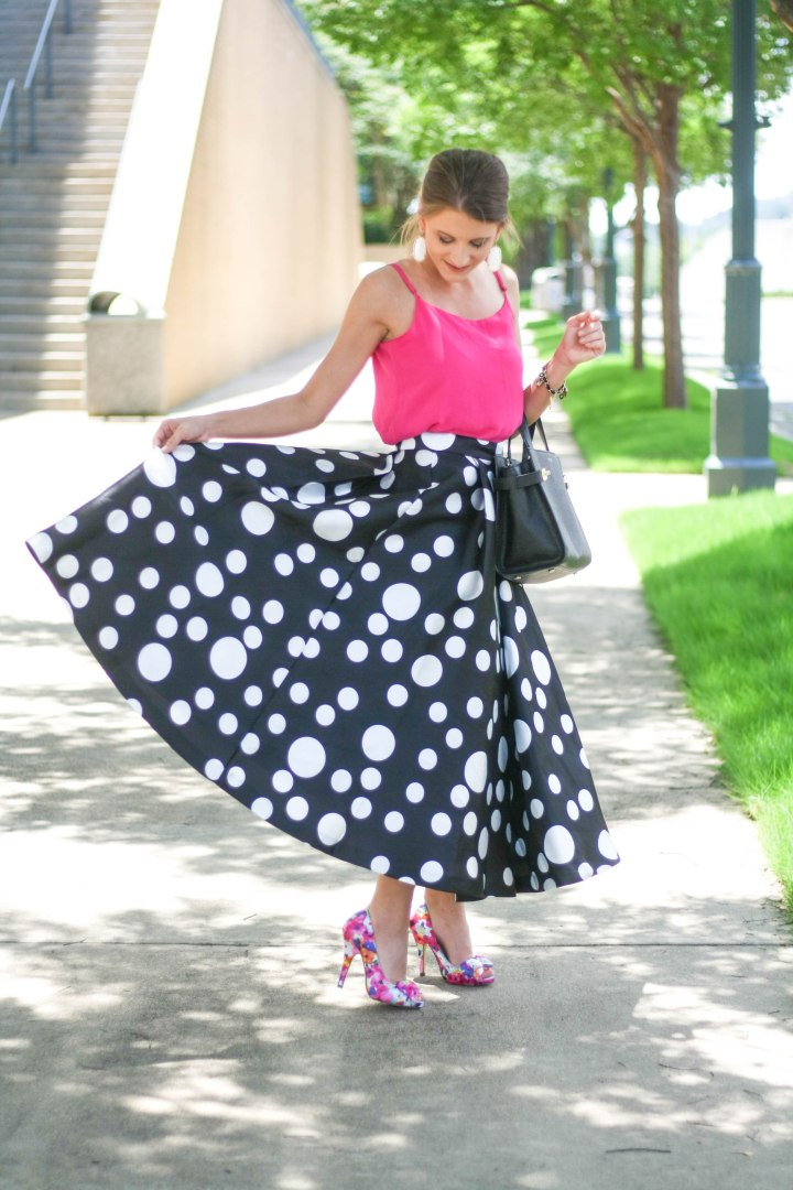 Statement Polka Dot Skirt (Again)