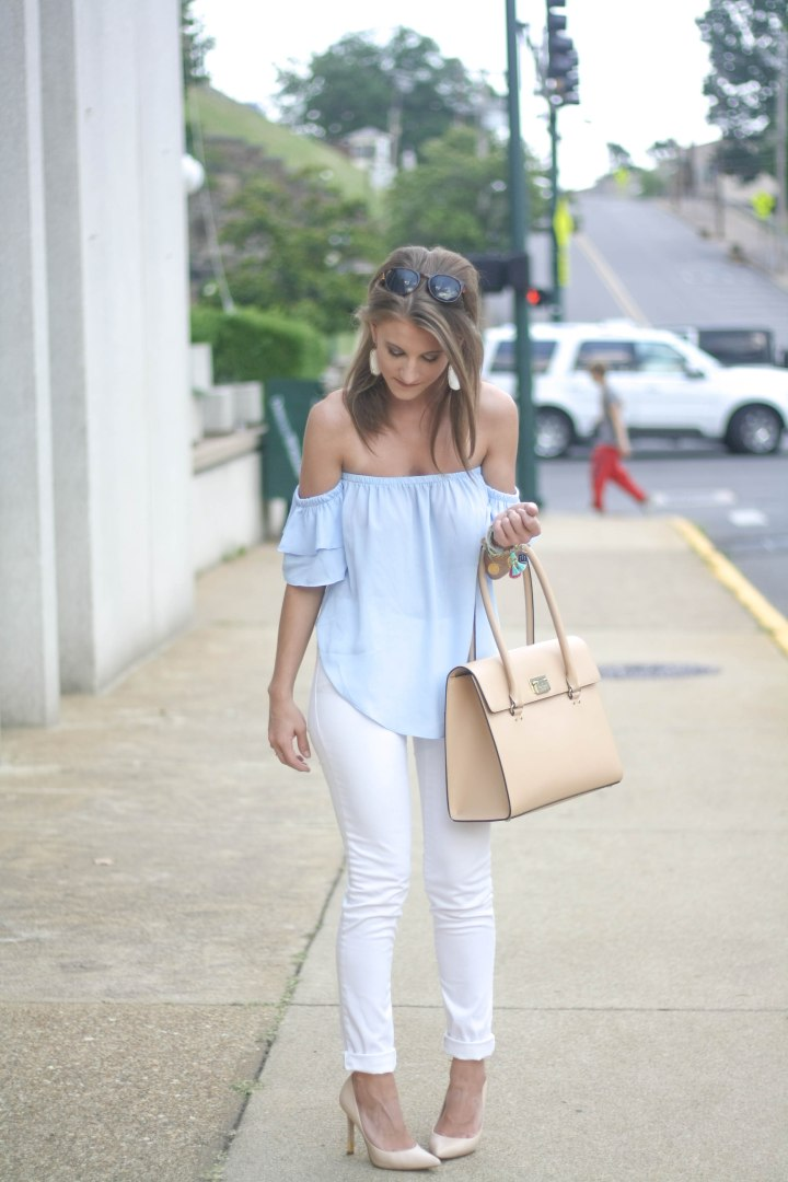 Blue & White Outfit