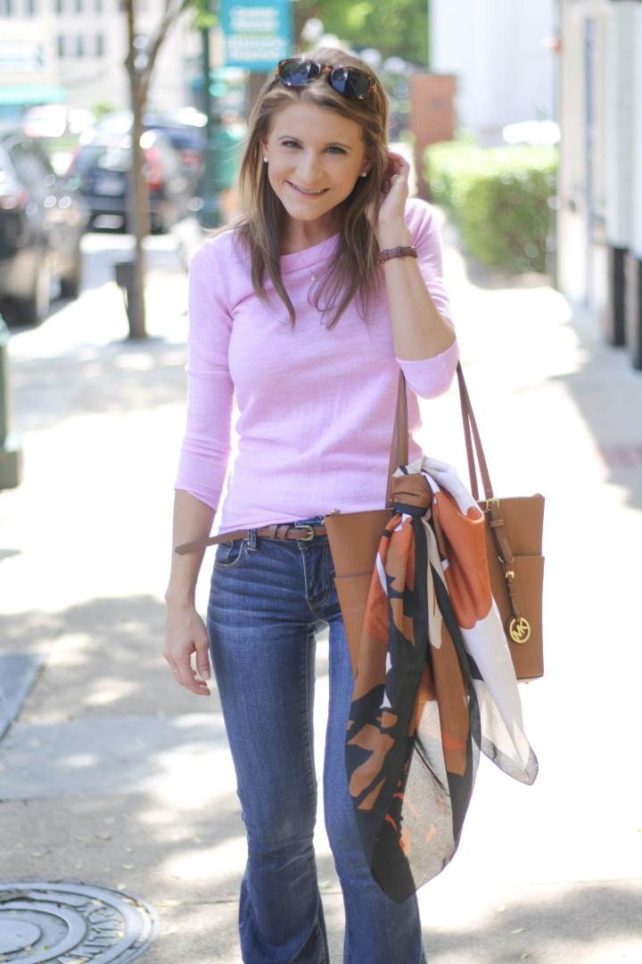 Fall Wardrobe: Flare Jeans