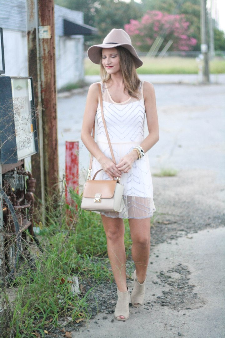 Free People Embellished Slip Dress