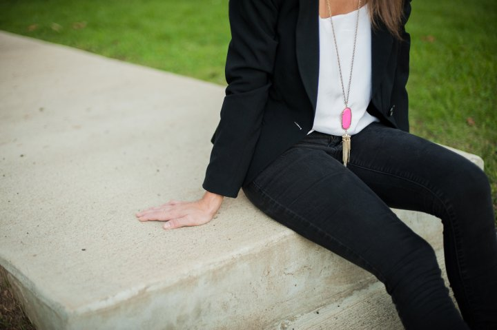 Blazer & Camisole feat. Arkansas Photographer Saira Khan
