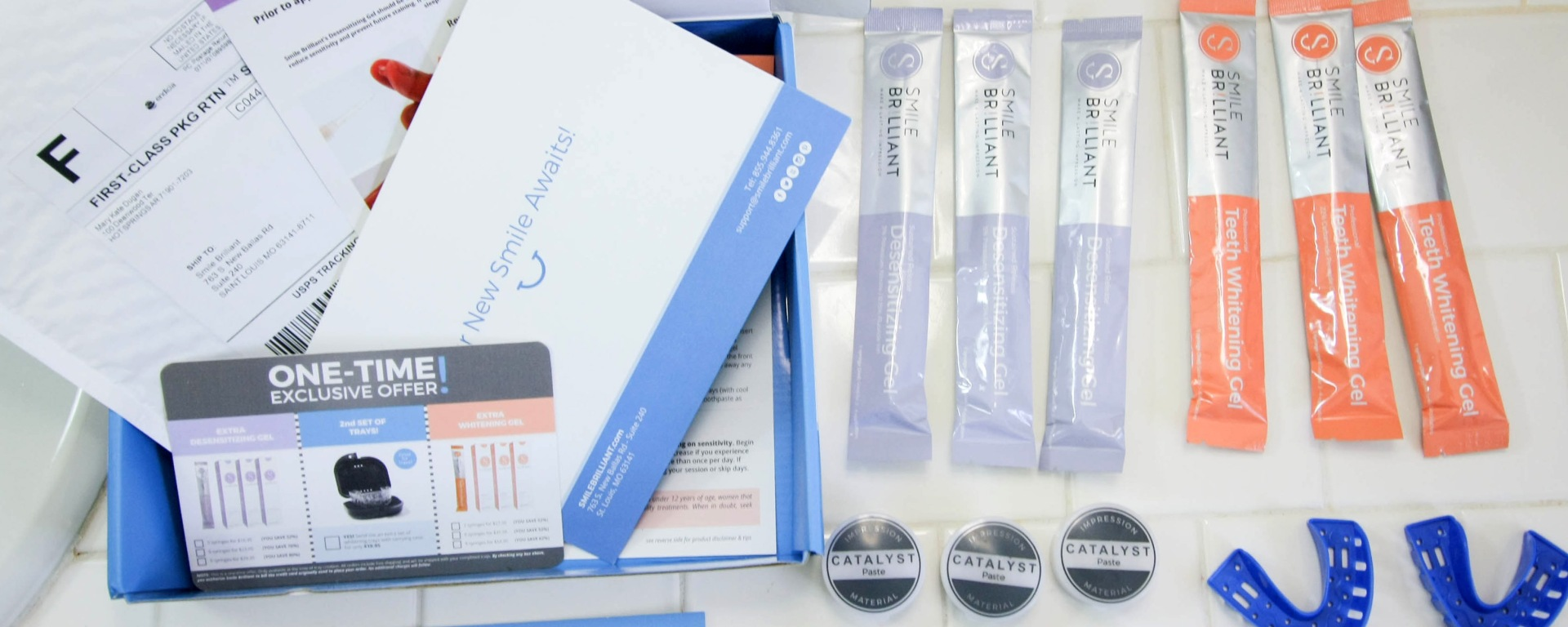 Smile Brilliant Custom Teeth Whitening System Review