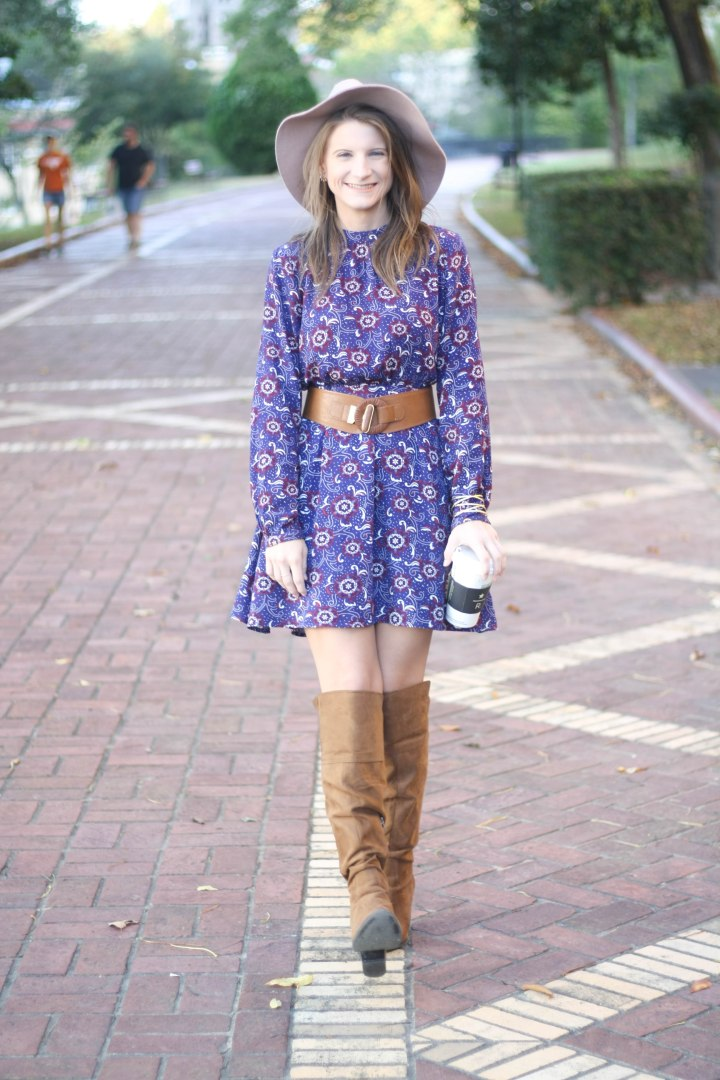 Printed Dresses for Fall Under $100