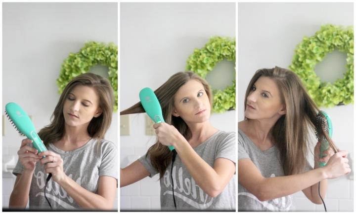 Hair Routine Essentials feat. Irresistible Me Hair Straightneing Brush