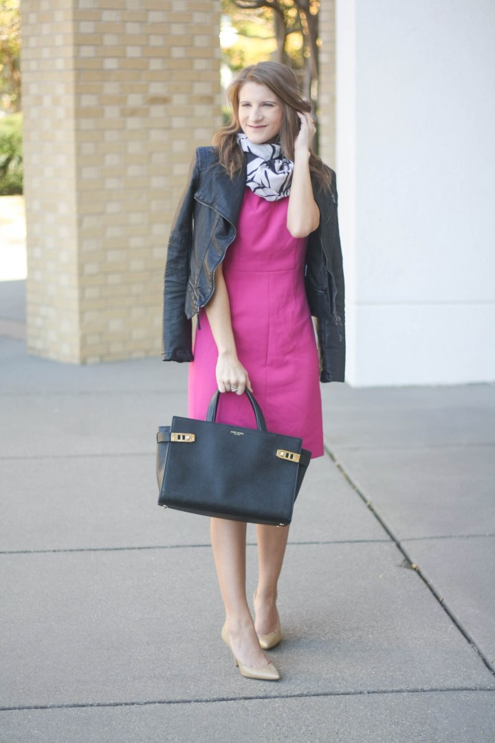 Diane von Furstenberg Pink Dress