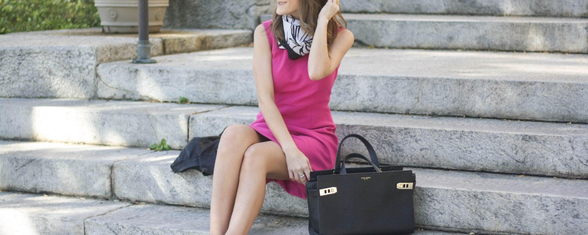 Diane von Furstenberg Pink Dress