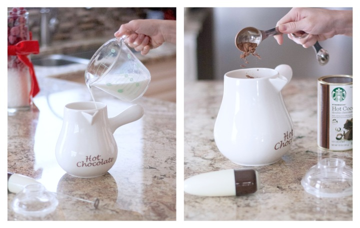 How to Make Hazelnut Hot Chocolate
