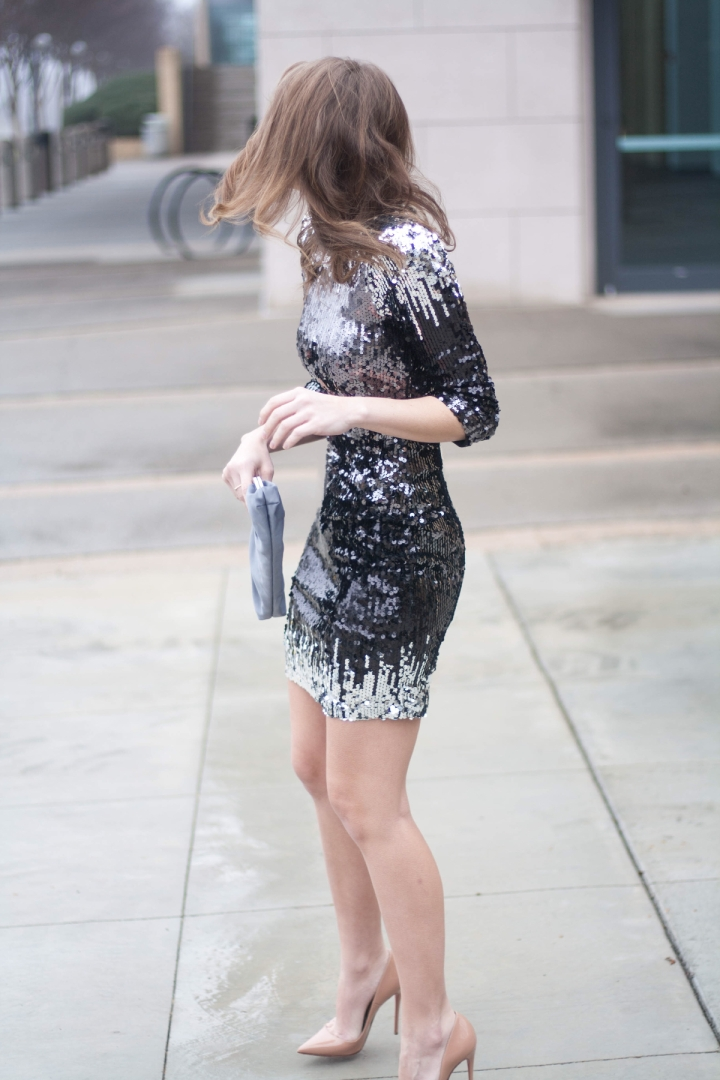Sequin Dress for NYE 2016