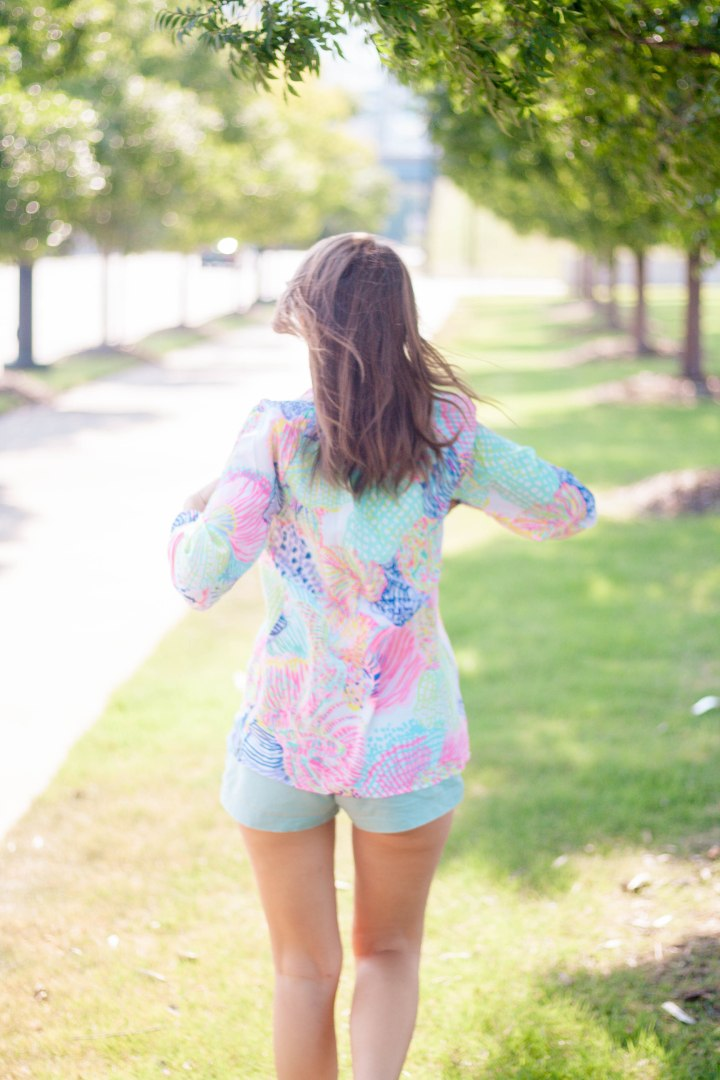 Lilly Pulitzer Elsa Top & Colored Short