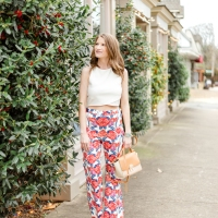 Versona Floral Printed Pants ft. Madeline Shane Photography