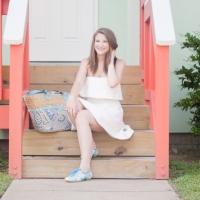 White Dress & Pucci Shoes
