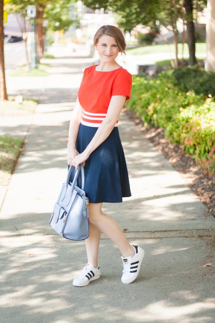 Juicy Couture Color Block Dress