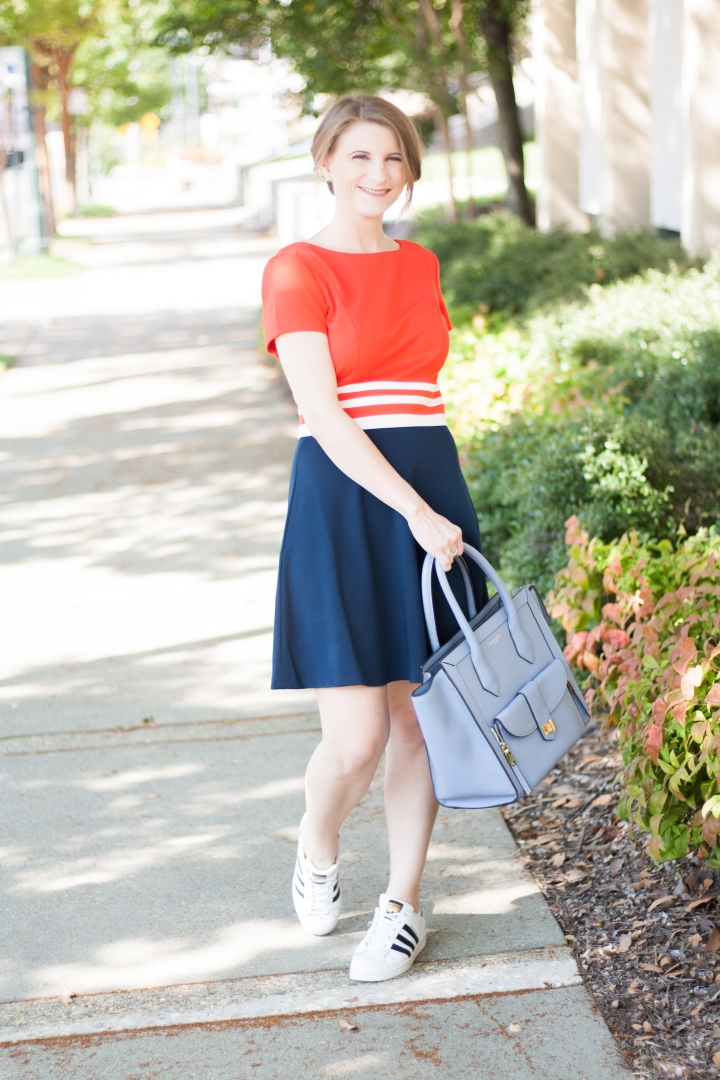 Juicy Couture Color Block Dress