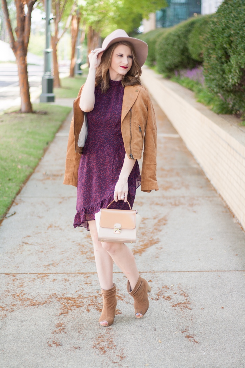 Juicy Couture Fall Floral Dress