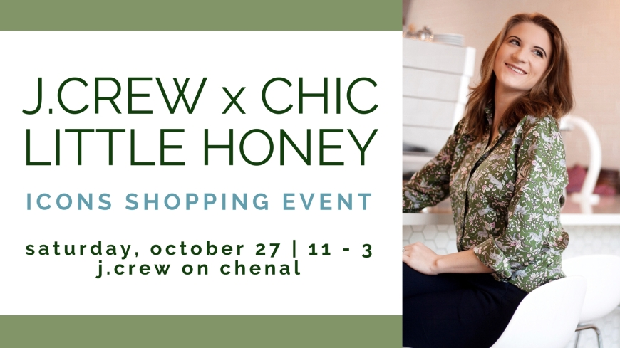 J.Crew x Chic Little Honey Shopping Event