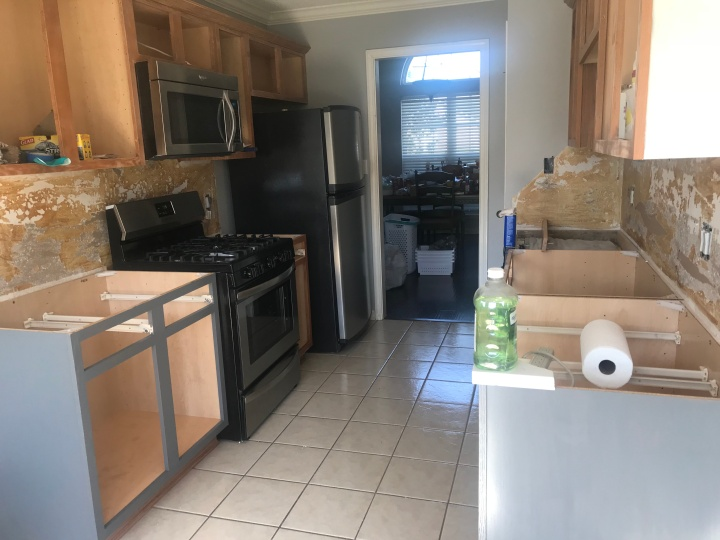 Our kitchen - renovation